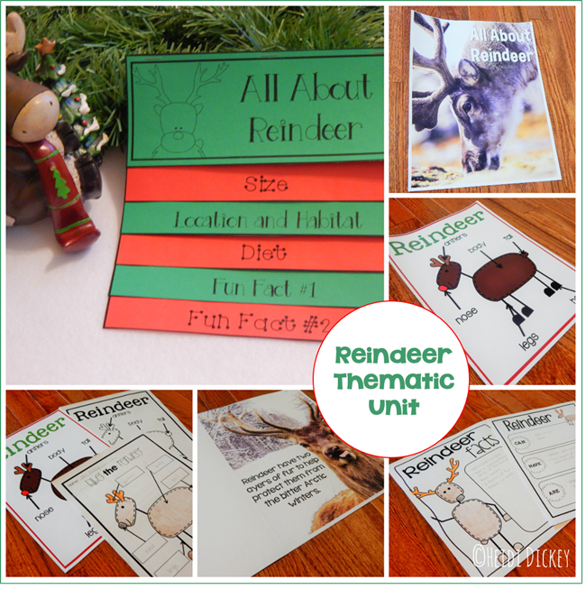 Reindeer Thematic Unit