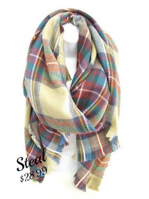 ShopbellaC Blanket Scarf