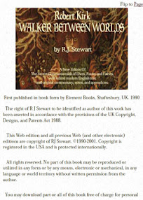 Cover of Robert John Stewart's Book Robert Kirk Walker Between Worlds