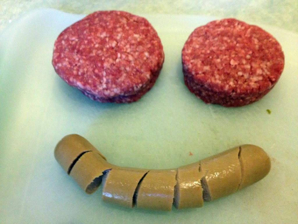 Some happy meat