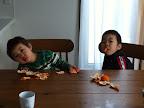果物大好きっ子な子供たち
