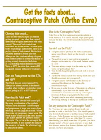 Cover of Helen Ferry's Book Contraceptive Patch