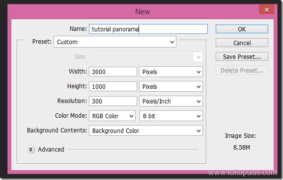 tutorial menggabungkan foto gambar menjadi panorama