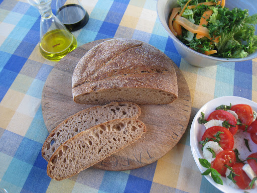 Hamelman's Whole-Wheat Levain delicious taste and great crumb
