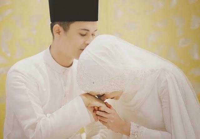 GAMBAR Majlis pernikahan diantara Sam Bunkface dan Aida Azira