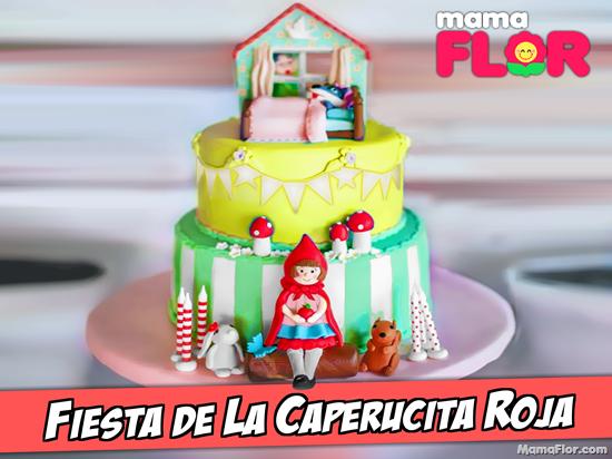 Torta o Pastel de La Caperucita Roja