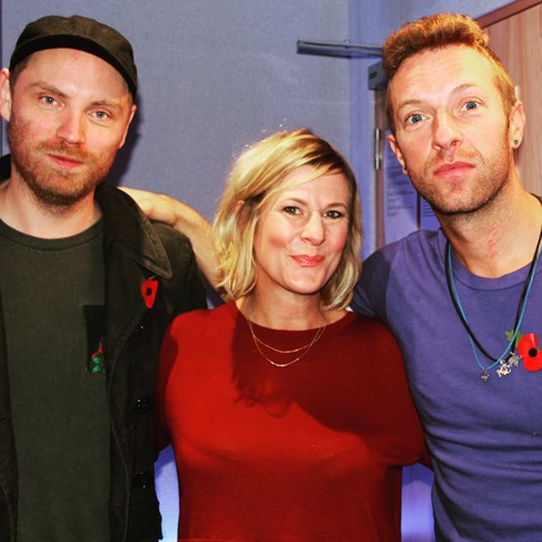 Coldplay Magic's Green Room