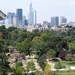 Vue aérienne du Jardin d'acclimatation