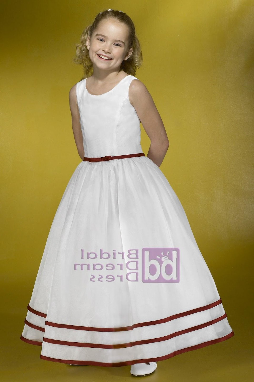 Alexia Designs Flower Girl Dress F002