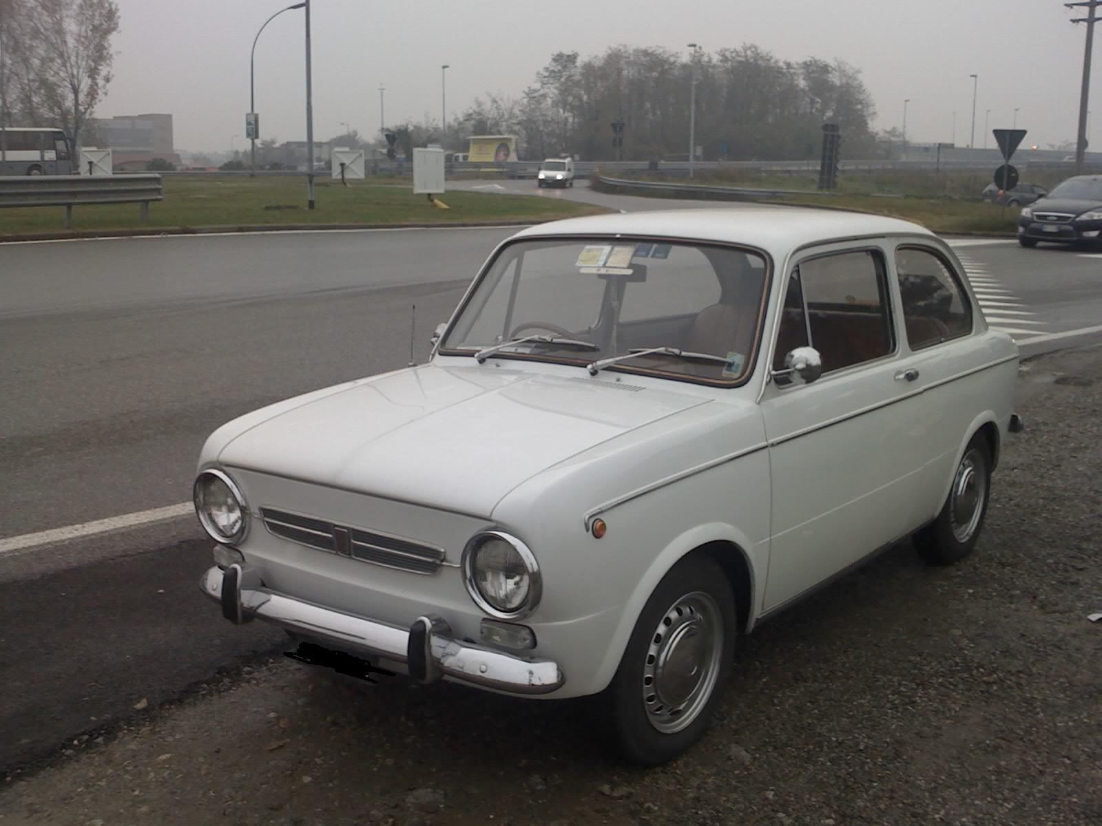 Fiat 850 Special - essai
