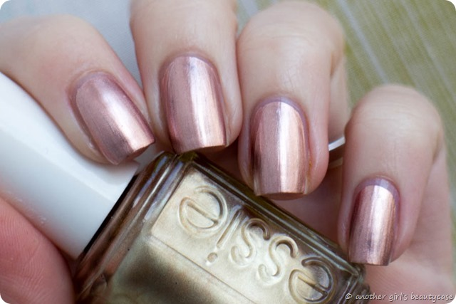 LFB Kupfer Copper Rose Gold Nails Penny Talk Essie Swatch