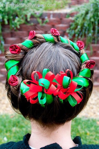 GRACEFUL LIFESTYLE Christmas hairstyles for kids