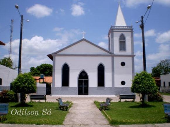 Igreja Matriz - Sao Caetano de Odivelas, Parà, foto: Odilson Sà