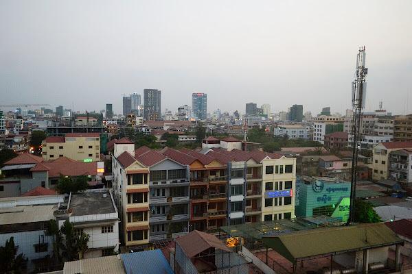 пномпень камбоджа город панорама
