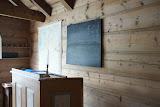 De school in het Sunnfjord museum