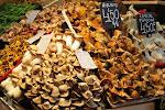 Mushrooms at the local market