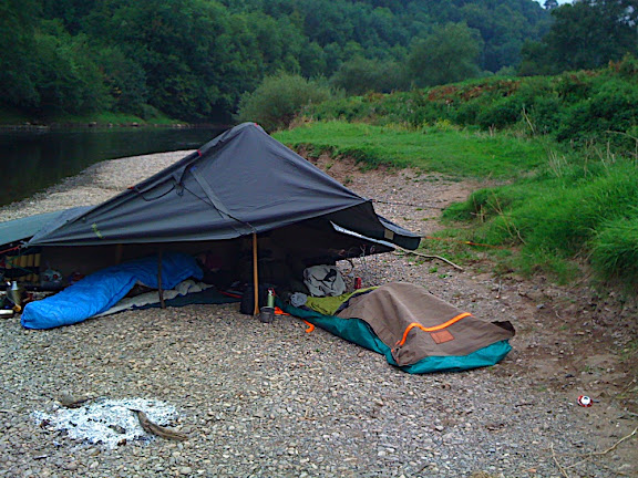 Morning at the Camp, Symonds Yat Canyon