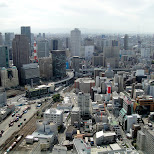 downtown osaka in Osaka, Osaka, Japan