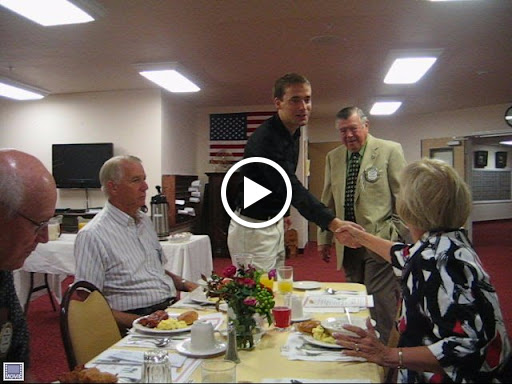 Frank introducing Dr. Christian Diegritz to everyone on September 2009 - Video 1