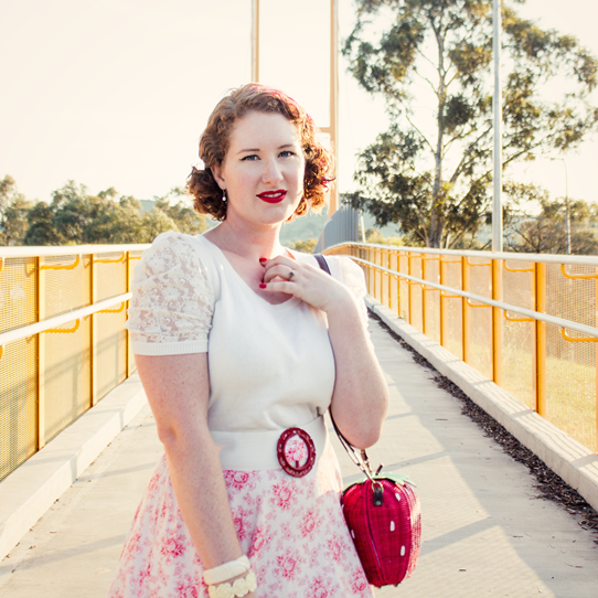 Vintage mama style ~ a 1950's look | Lavender & Twill