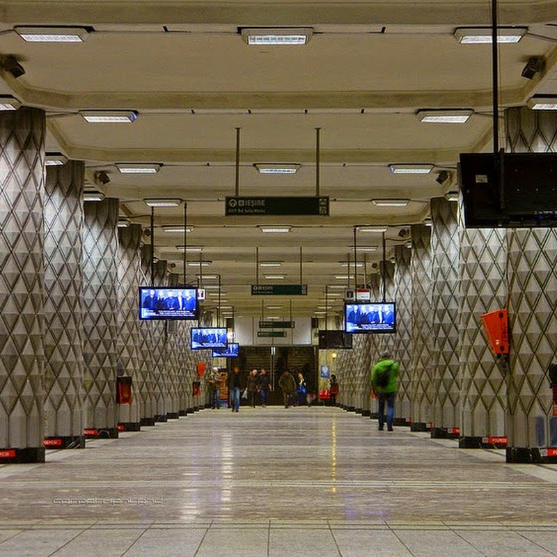 The Stunning Secret of Politehnica Metro Station, Bucharest