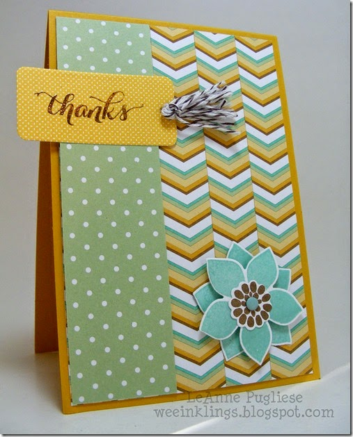 LeAnne Pugliese WeeInklings Another Thank You Flower Patch Stampin Up