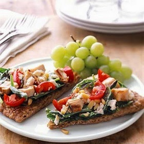 Healthy Greek Bruschetta