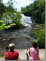 Dan and Tricia enjoy High Falls