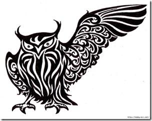 dibujos de buhod en blanco y negro (16)