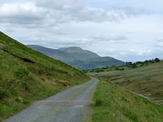 The path back from Coledale Hause.