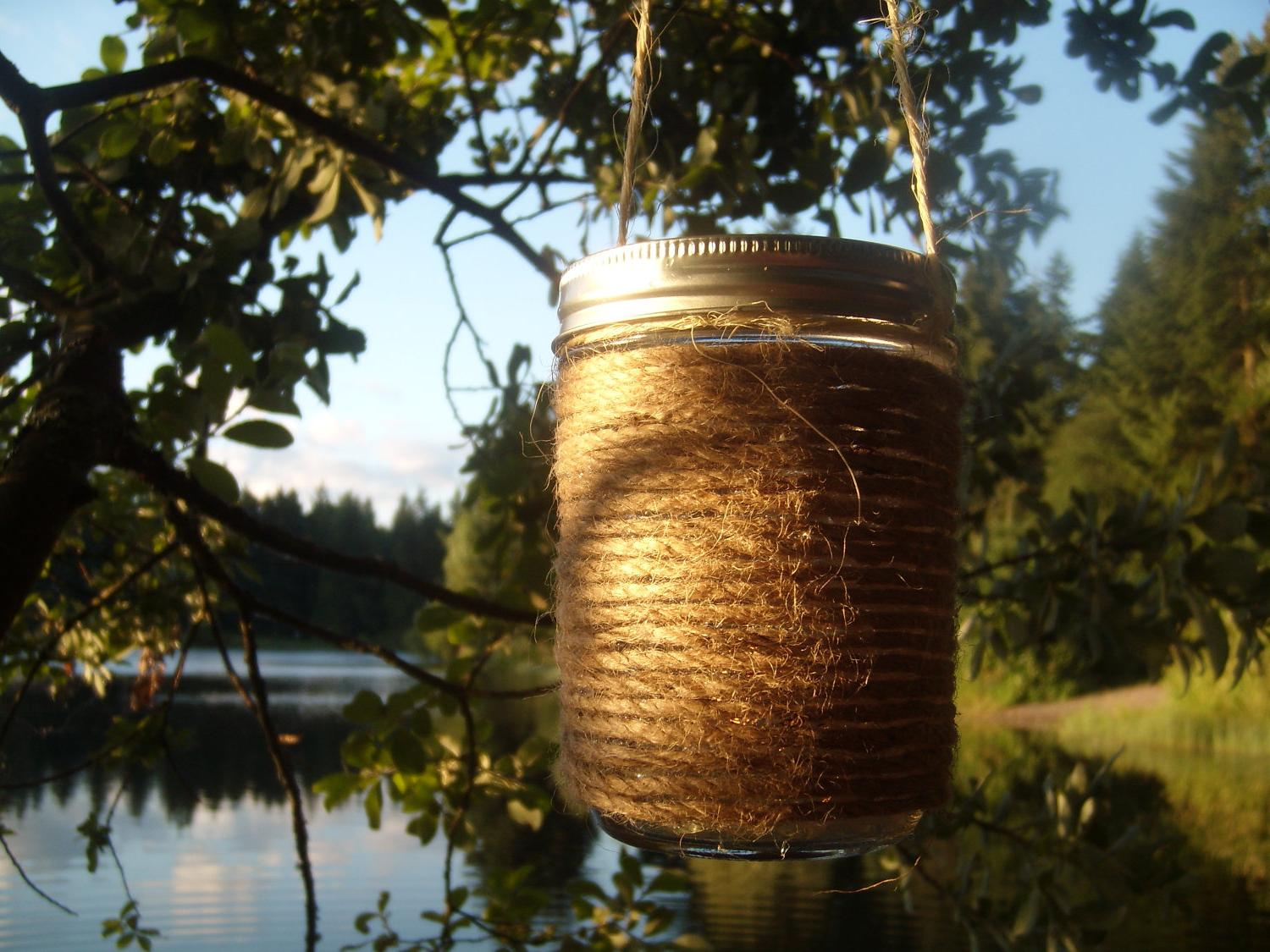 mason jar wedding lanterns