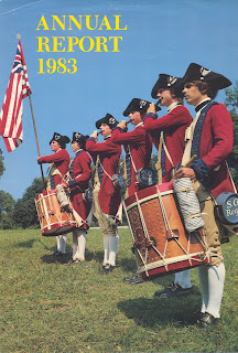 Cover of the Colonial Williamsburg Foundation 1983 Annual Report.