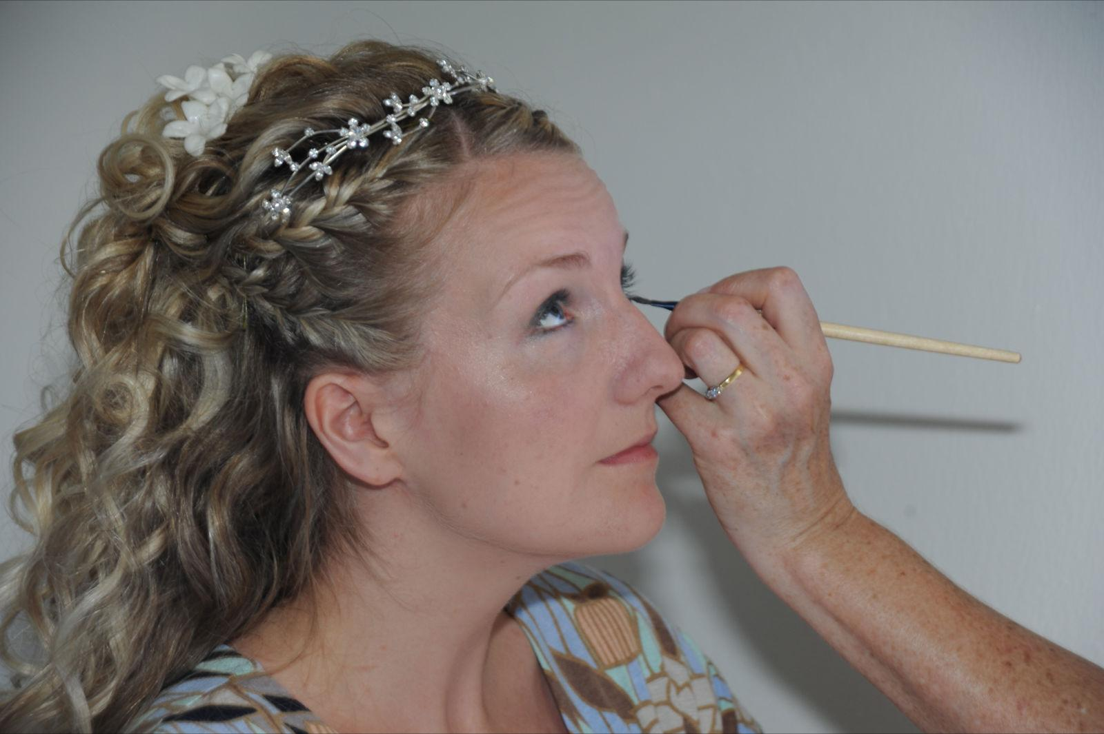 makeup bridal day