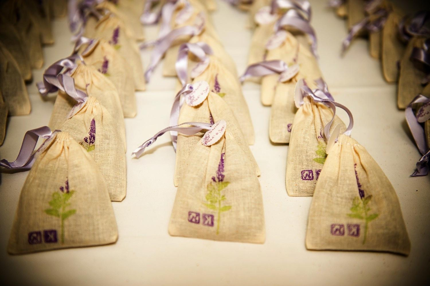 Lavender Sachet Bags Wedding