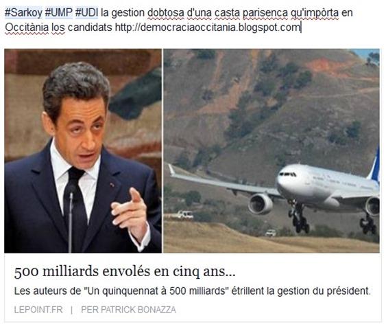 UMP-UDI gestion de la casta parisenca