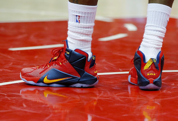 LeBron Leads Shorthanded Cavs in Crucial Game 2 Win in LeBron 12 PE
