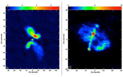 galáxias em fusão