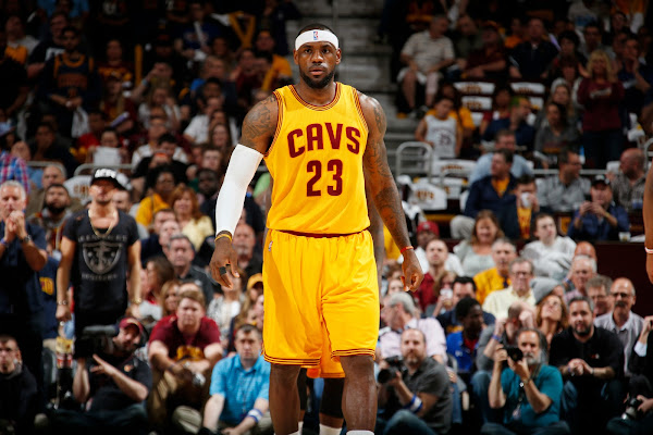 LBJ Returns to Double Helix LeBron 12 PE and The Headband in Game 2 Win