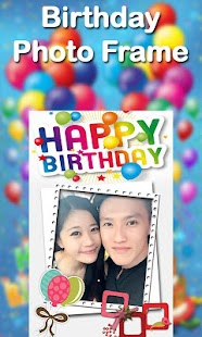 Happy Birthday Photo Frame - screenshot