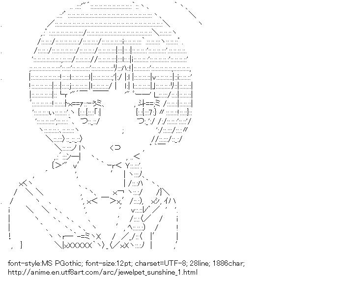 Jewelpet Sunshine,Mizushiro Kanon,Jewelpet