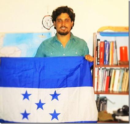 Periodista hondureño Ricardo Ellner