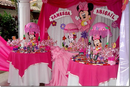 Decoraci n cumplea os minnie mouse - Decoracion cumpleanos bebe ...