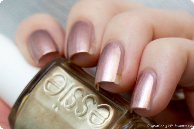 LFB Kupfer Copper Rose Gold Nails Penny Talk Essie Swatch-4