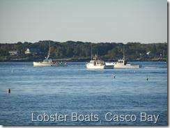 046 Lobster Boats, Casco Bay