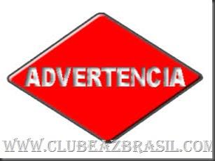 ADVERTENCIAS  REGRAS DO SITE - 2015