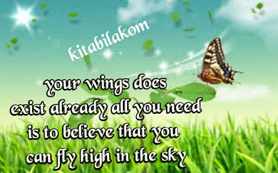 your wings does exist already, all you need is to believe that you can fly high in the sky