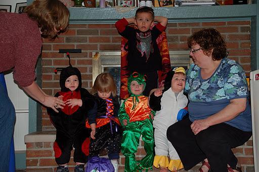 Smith Family Halloween 2008