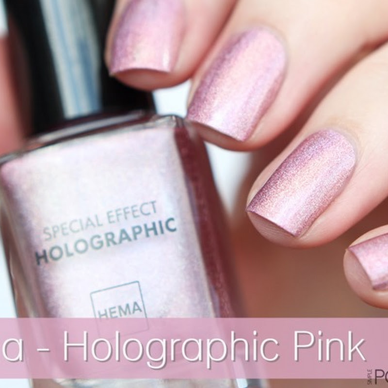 [Swatch] Hema–Holographic Pink