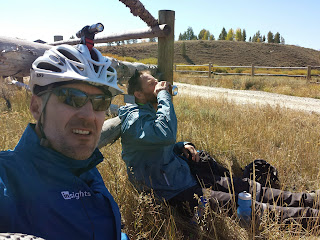 Jeremy and I kept crossing paths throughout the ride. He is definitely faster than me, but he liked to take long, leisurely breaks. It was great to hang with him during what seemed like more than half of my meals and breaks.