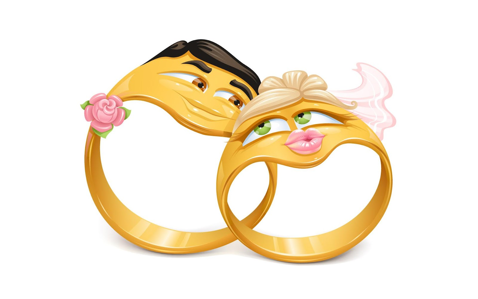 cartoon wallpaper wedding